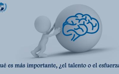 Qué es más importante, ¿el talento o el esfuerzo?
